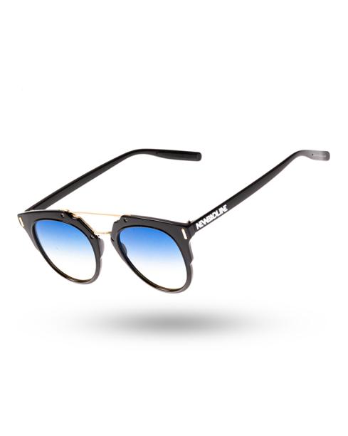 OKULARY RIM BLACK FLASH BLUE-YELLOW 00-172