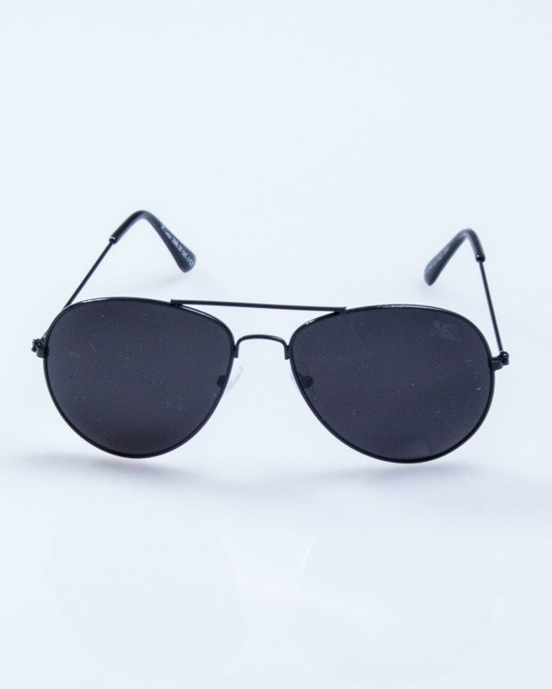 OKULARY SHERIFF BLACK METAL BLACK 511