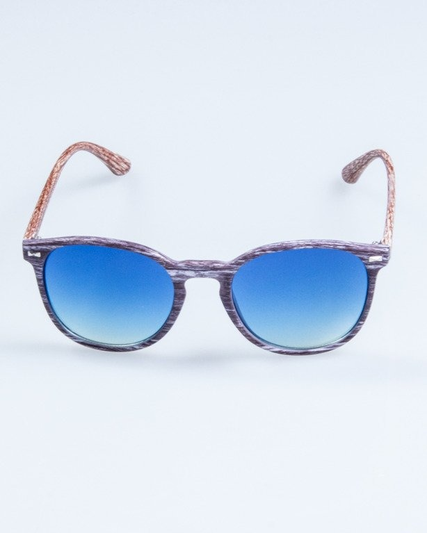OKULARY WOODY BLACK-BRWON1 BLUE 714