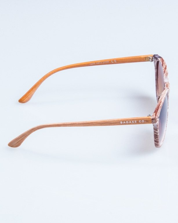 OKULARY WOODY BROWN1 BROWN 712