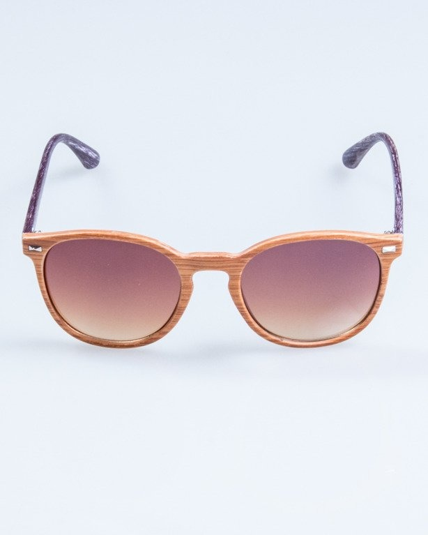 OKULARY WOODY BROWN2 BROWN 711