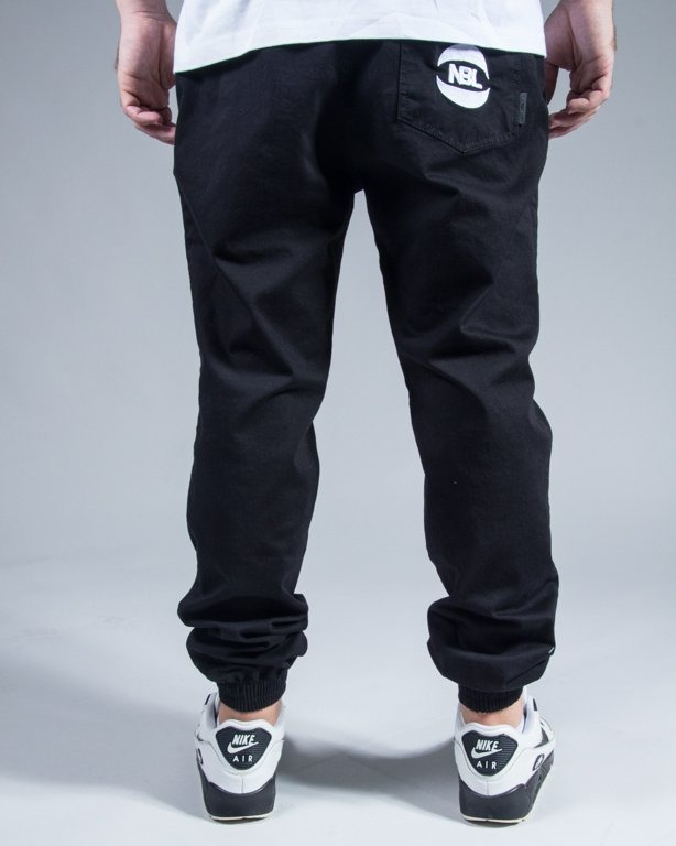 SPODNIE CHINO JOGGER BASKET BLACK