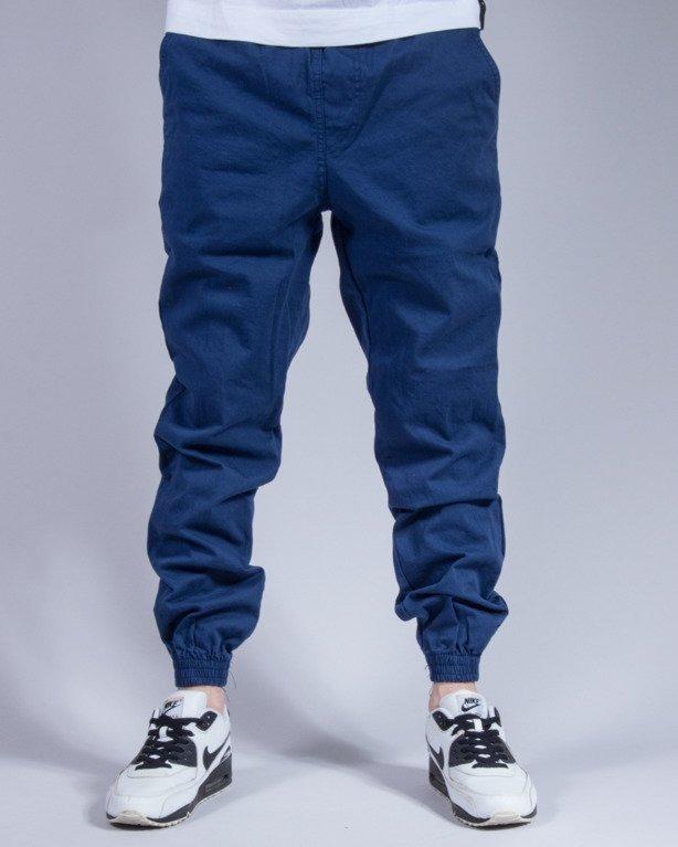 SPODNIE CHINO JOGGER BASKET BLUE