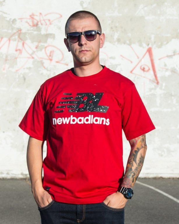 T-SHIRT NEWBADLANS RED