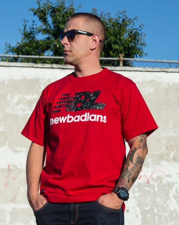 T-SHIRT NEWBADLANS RED