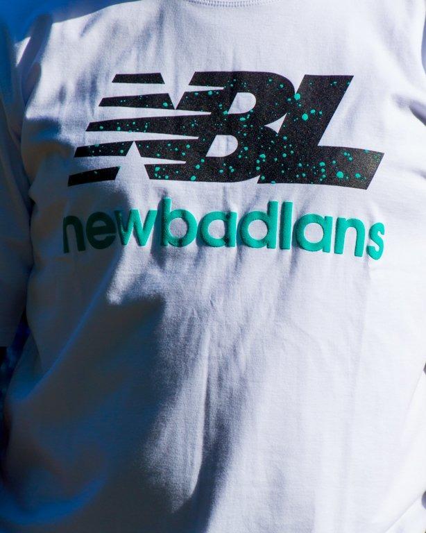 T-SHIRT NEWBADLANS WHITE