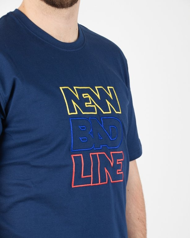 T-SHIRT OUTLINE NAVY