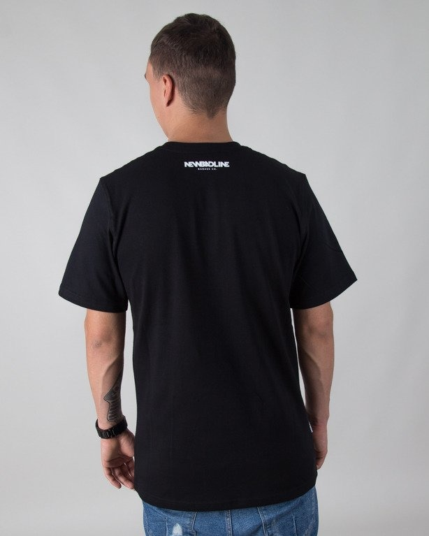 T-SHIRT PALM BLACK