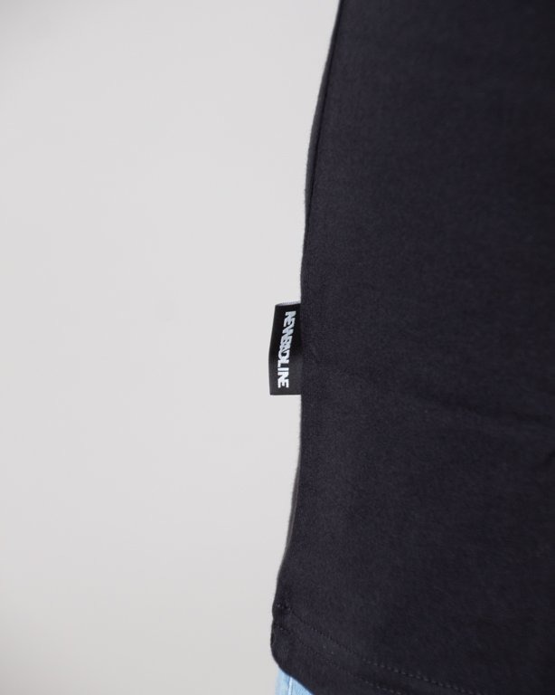 T-SHIRT RAINBOW BLACK