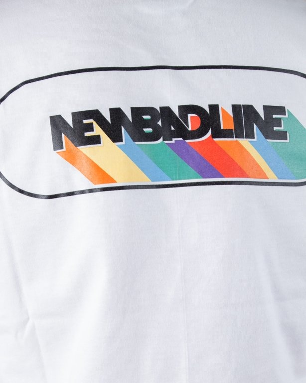 T-SHIRT RAINBOW WHITE