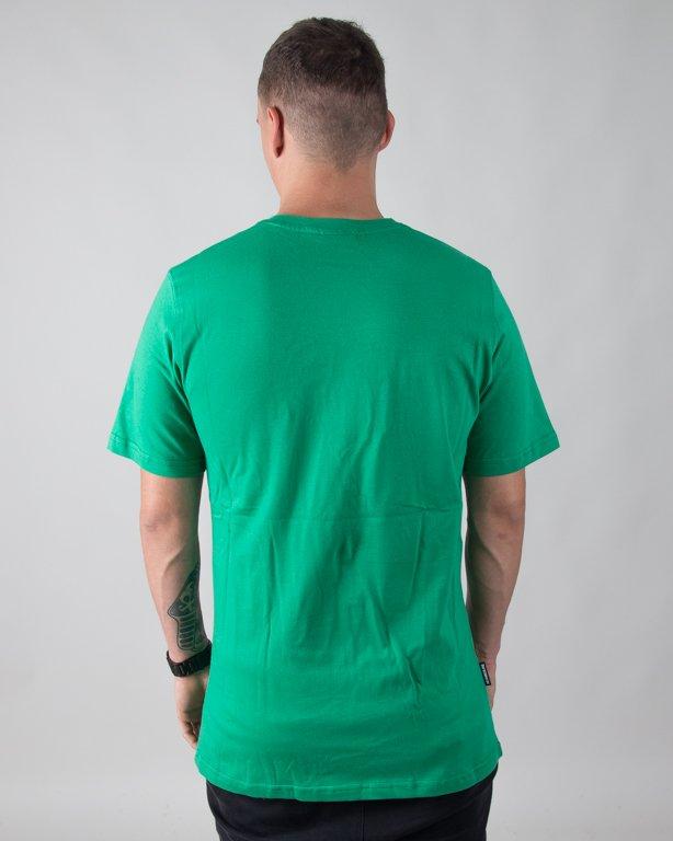T-SHIRT ROMB GREEN