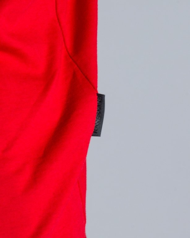 T-SHIRT SDM POCKET RED